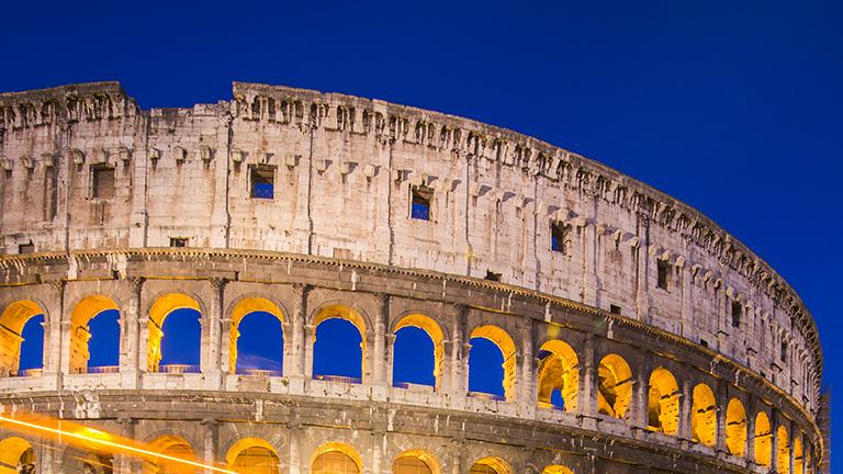 Colesseum in Rome, Italy.