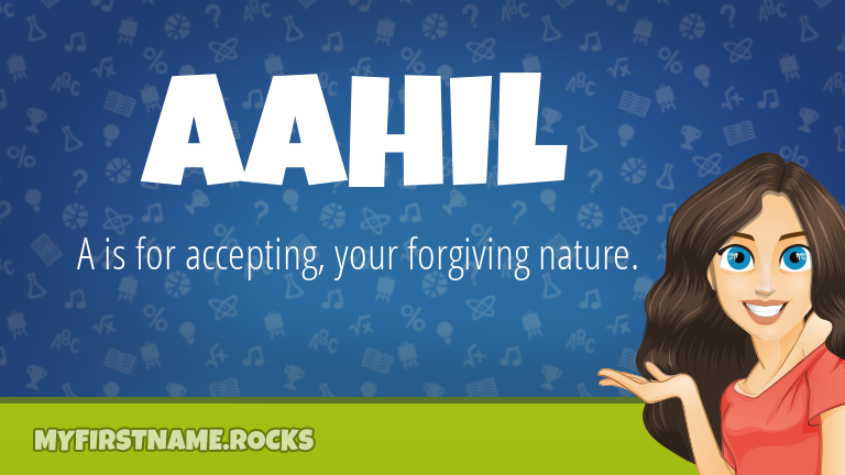 My First Name Aahil Rocks!