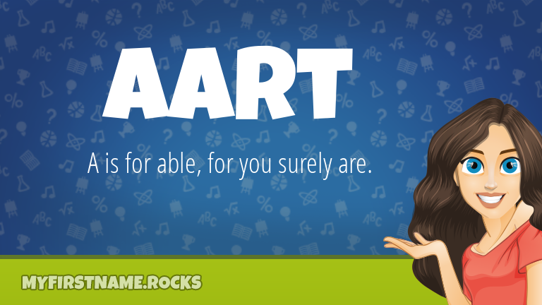 My First Name Aart Rocks!