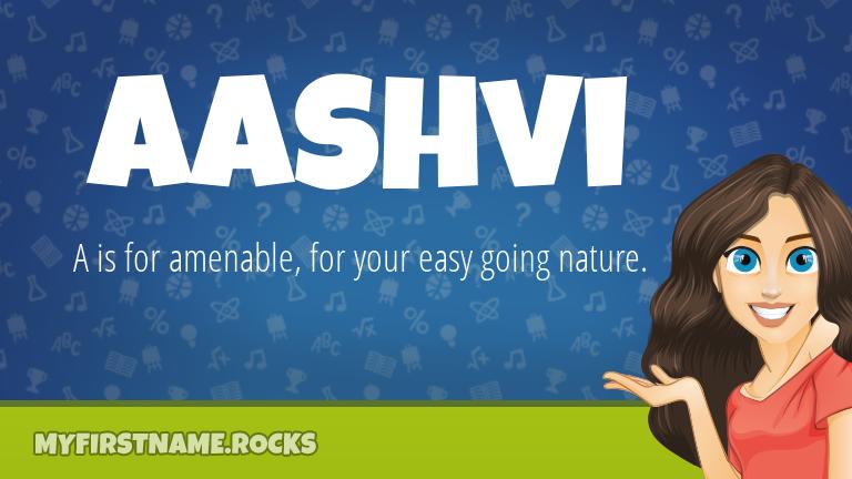 My First Name Aashvi Rocks!
