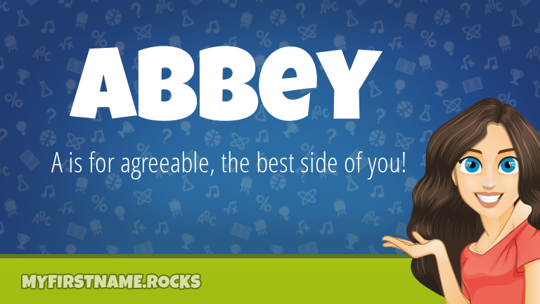 My First Name Abbey Rocks!