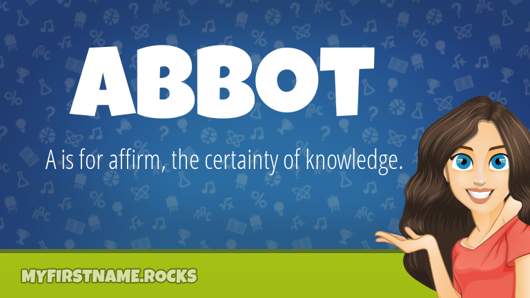 My First Name Abbot Rocks!