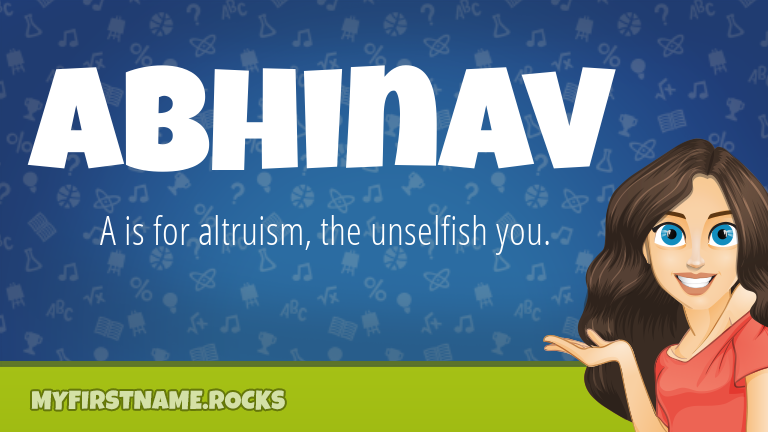 My First Name Abhinav Rocks!