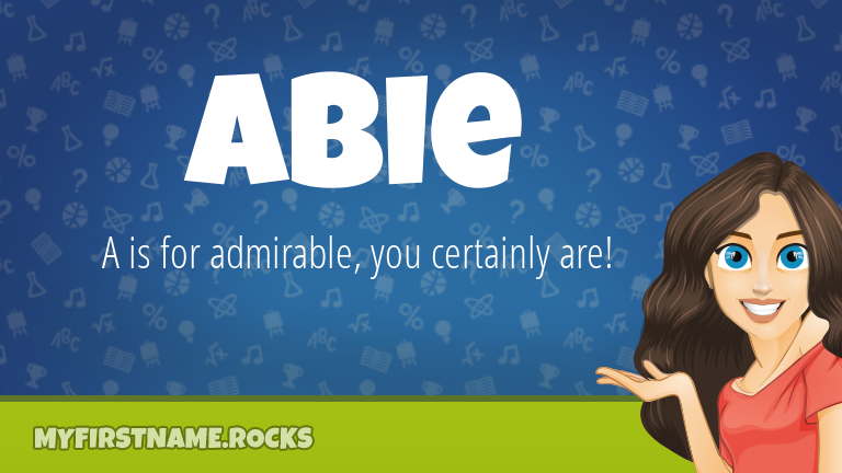 My First Name Abie Rocks!