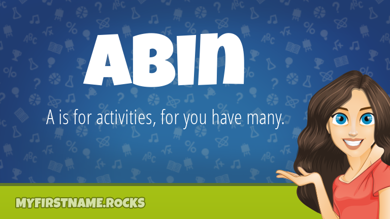 My First Name Abin Rocks!