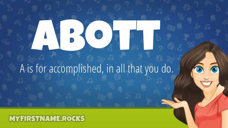 My First Name Abott Rocks!