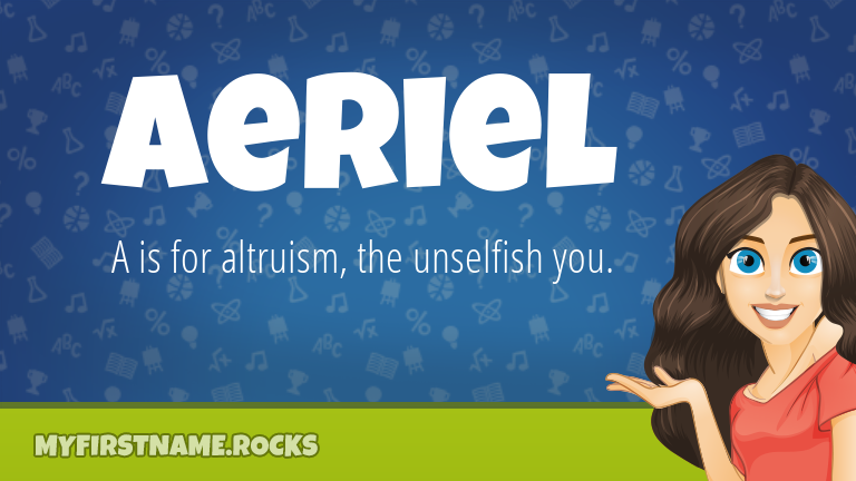 My First Name Aeriel Rocks!