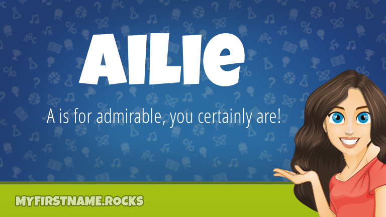 My First Name Ailie Rocks!