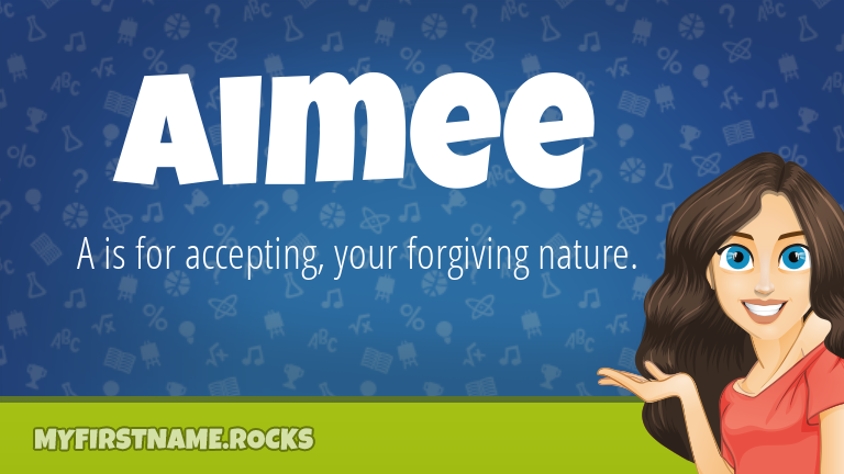 My First Name Aimee Rocks!