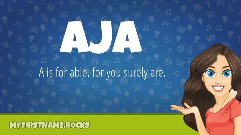 My First Name Aja Rocks!