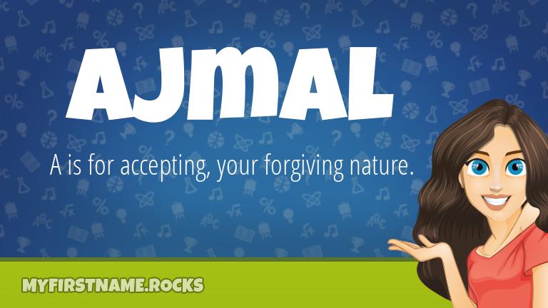 My First Name Ajmal Rocks!