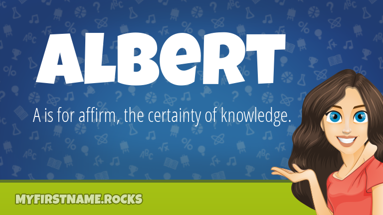 My First Name Albert Rocks!