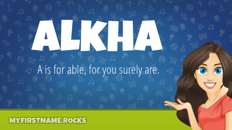 My First Name Alkha Rocks!