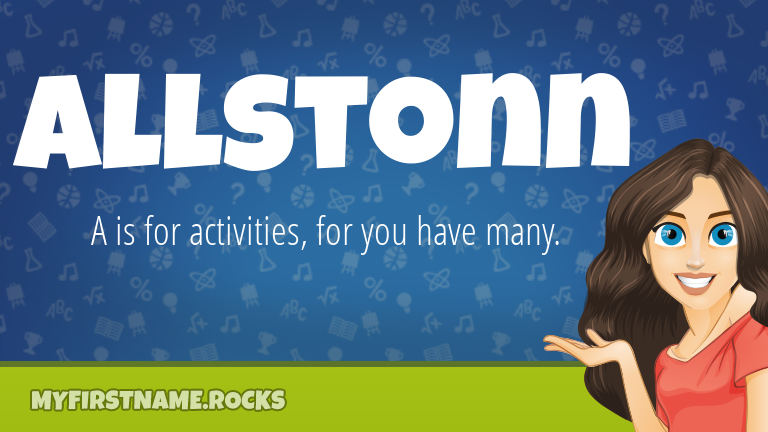 My First Name Allstonn Rocks!