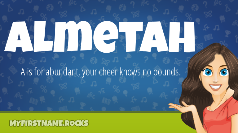 My First Name Almetah Rocks!