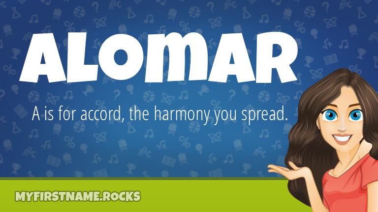 My First Name Alomar Rocks!
