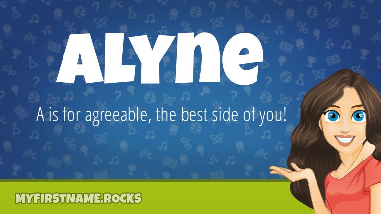 My First Name Alyne Rocks!