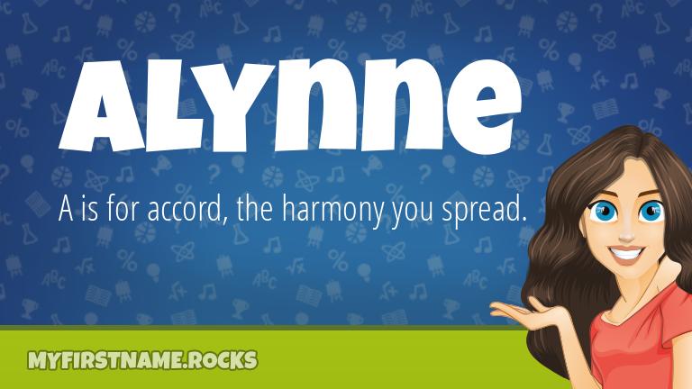 My First Name Alynne Rocks!