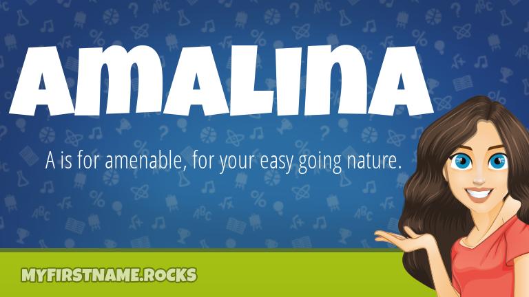 My First Name Amalina Rocks!