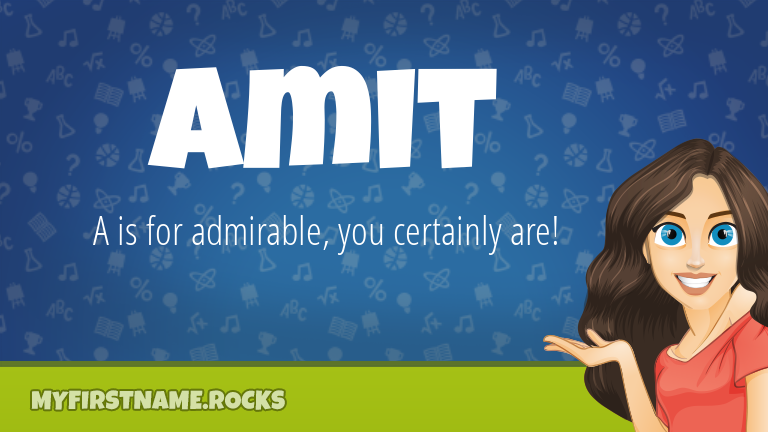 My First Name Amit Rocks!