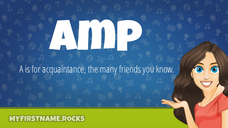 My First Name Amp Rocks!
