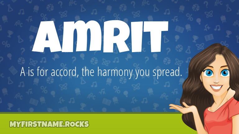 My First Name Amrit Rocks!