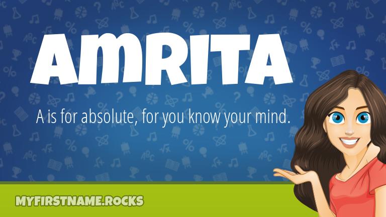 My First Name Amrita Rocks!