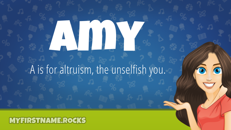 My First Name Amy Rocks!