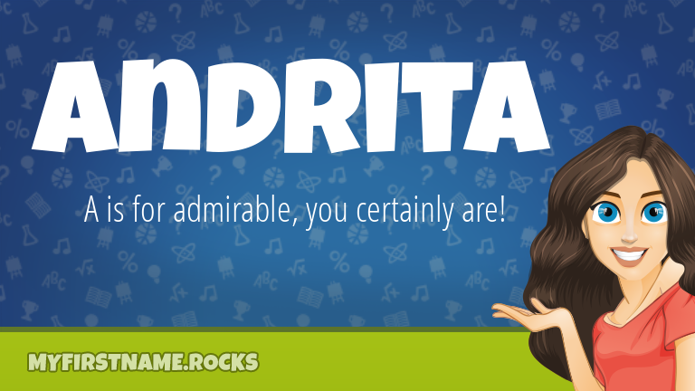 My First Name Andrita Rocks!