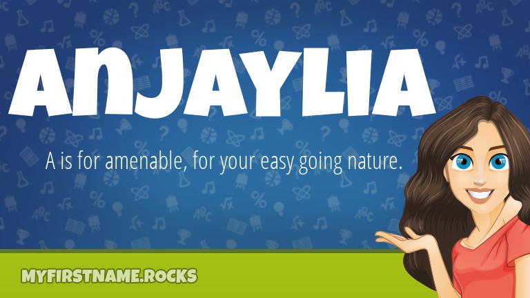 My First Name Anjaylia Rocks!