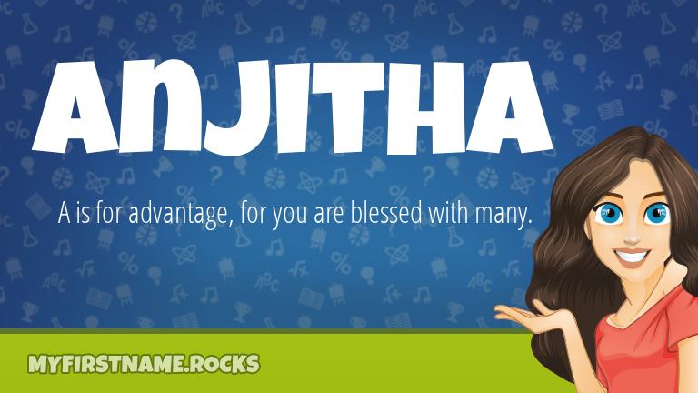 My First Name Anjitha Rocks!