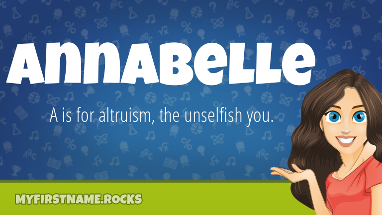 My First Name Annabelle Rocks!