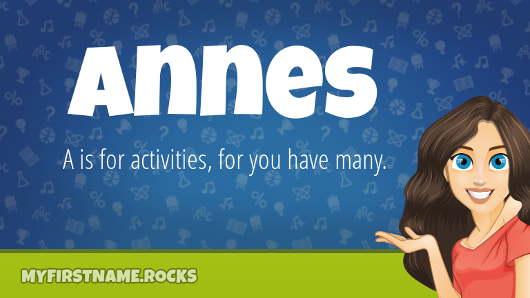 My First Name Annes Rocks!