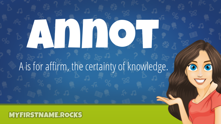 My First Name Annot Rocks!