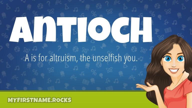 My First Name Antioch Rocks!