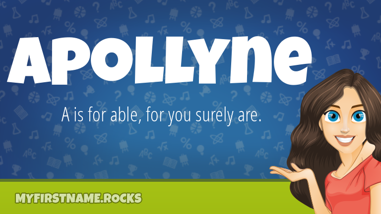 My First Name Apollyne Rocks!