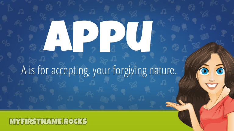 My First Name Appu Rocks!