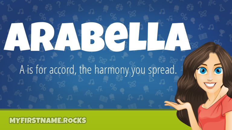 My First Name Arabella Rocks!