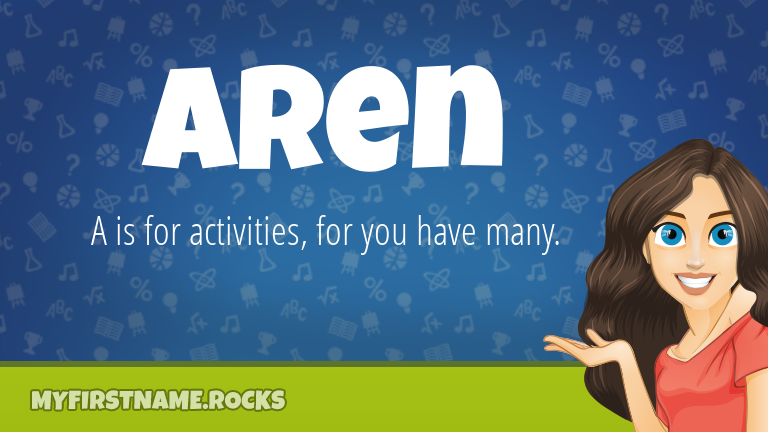 My First Name Aren Rocks!