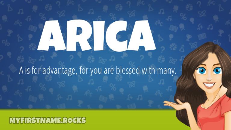 My First Name Arica Rocks!