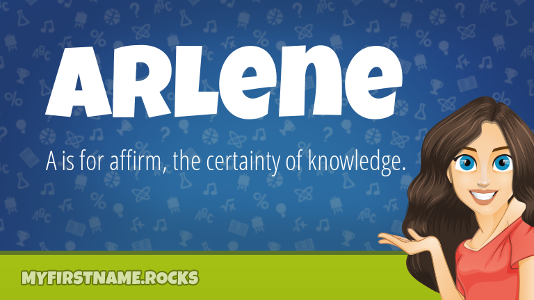 My First Name Arlene Rocks!