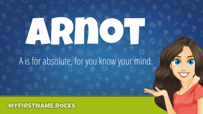 My First Name Arnot Rocks!