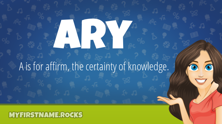 My First Name Ary Rocks!