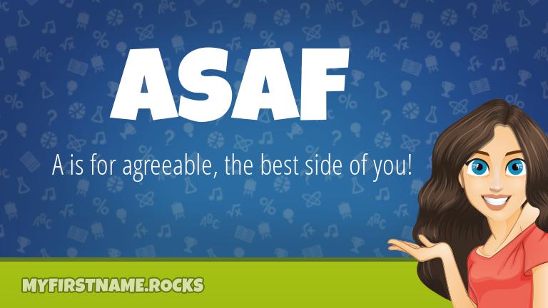 My First Name Asaf Rocks!