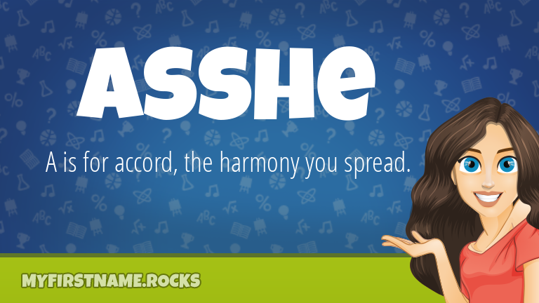My First Name Asshe Rocks!
