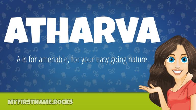 My First Name Atharva Rocks!