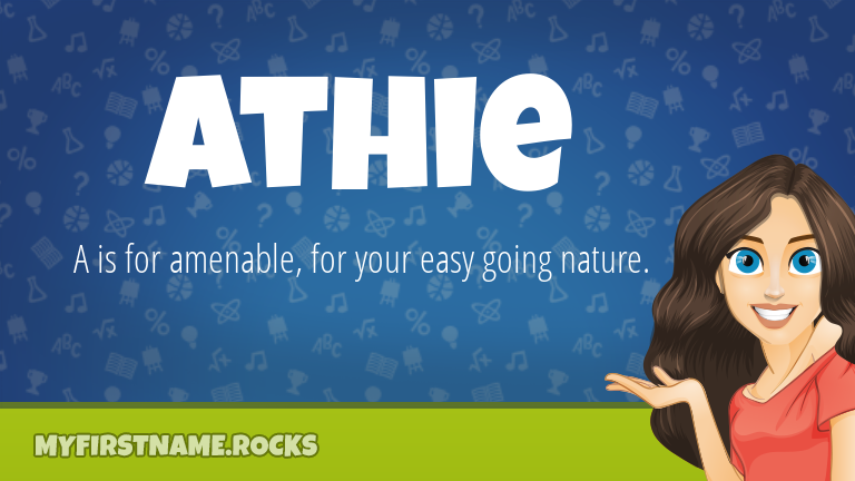 My First Name Athie Rocks!