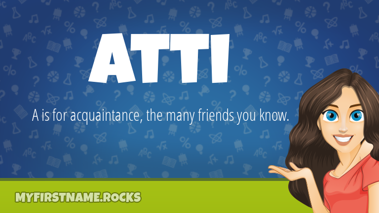 My First Name Atti Rocks!