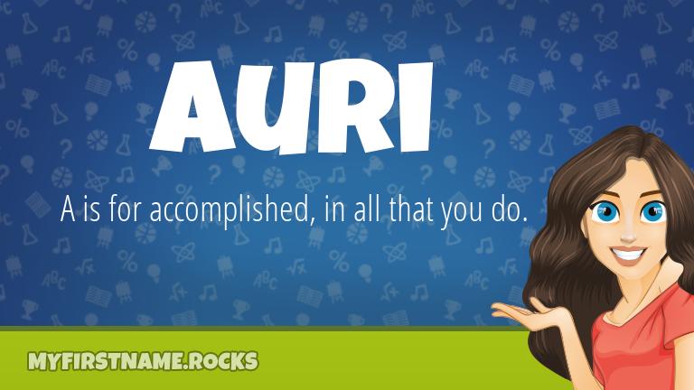 My First Name Auri Rocks!