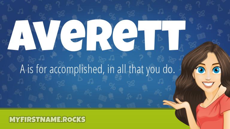 My First Name Averett Rocks!